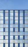 Modern glass building detail Royalty Free Stock Images
