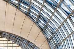 Modern glass building dome. Stock Image