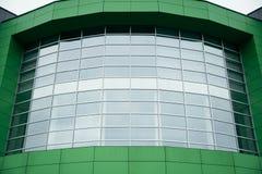 Building entrance, modern mall. Modern glass building entrance, modern mall center Royalty Free Stock Image