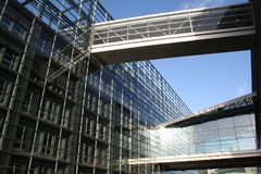 Modern Glass Building - Exterior Stock Images