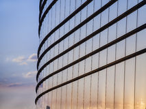 Modern glass building exterior Stock Photography