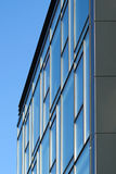 Modern glass building facade Stock Images