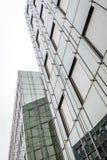 Modern glass building facade. Modern gray glass building facade Stock Images