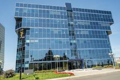 Modern glass building Stock Image