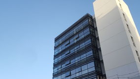 Modern Glass Building. Outdoor Shoot Royalty Free Stock Images