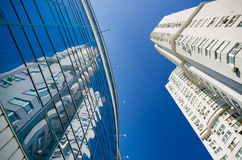Modern glass building Royalty Free Stock Images
