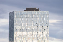 Modern glass building, Reykjavik, Iceland Stock Photos