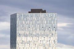 Modern glass building, Reykjavik, Iceland Stock Photos