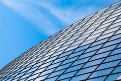 Modern glass building roof Stock Photo