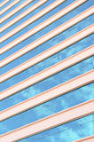 Modern glass building with sky and cloud Royalty Free Stock Images