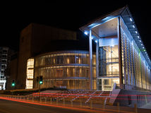 Modern glass building of the Theatrical Organization of Cyprus, Stock Photo