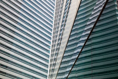 Modern glass buildings. Abstract pattern Royalty Free Stock Photography