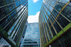 Modern glass buildings Stock Image