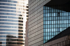 Modern glass buildings Royalty Free Stock Photo