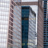 Modern glass buildings Stock Images