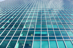 Modern glass buildings business aria Royalty Free Stock Photos