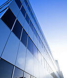 Modern glass business building downtown Royalty Free Stock Photos
