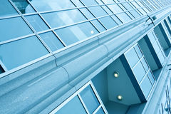 Modern glass business center Stock Photo