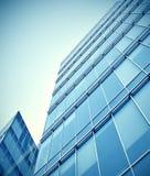 Modern glass business center Stock Photos