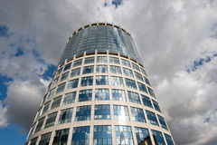 Modern glass bussines center Stock Image