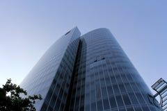 Modern glass byggnad Royaltyfria Foton