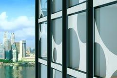 Modern glass byggnad Royaltyfri Foto
