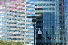 Modern glass byggnad, Paris Arkivfoton