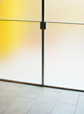 Modern glass door Stock Photo