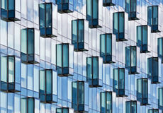 Modern glass facade Royalty Free Stock Images