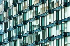Modern glass facade Stock Photography