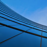 Modern glass facade Royalty Free Stock Image