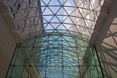Modern glass facade Royalty Free Stock Image