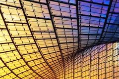 Modern glass facade, abstract composition Stock Image
