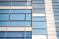 Modern glass facade design Royalty Free Stock Photo
