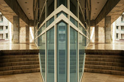 Modern glass facade Stock Photography
