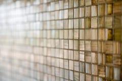 Modern Glass Mosaic Tiles Stock Photography
