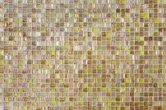 Modern Glass Mosaic Tiles Royalty Free Stock Image