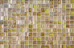 Modern Glass Mosaic Tiles Royalty Free Stock Photos