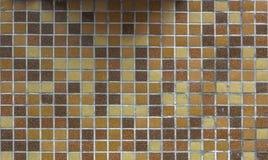 Modern glass mosaic tiles background Stock Image
