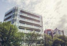 Modern glass office building Stock Photo