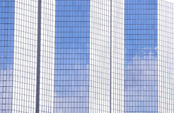 Modern glass office building in Paris, France Royalty Free Stock Images
