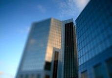 Modern glass office building A Stock Photography