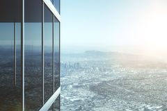 Modern glass office building Stock Image