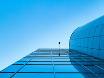 Modern glass office buildings. Royalty Free Stock Images