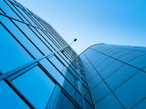 Modern glass office buildings. Stock Images