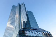 Modern glass office buildings Royalty Free Stock Image