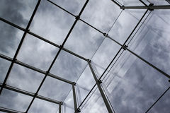 Modern glass roof Royalty Free Stock Image