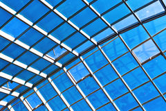 Modern glass roof Royalty Free Stock Photos