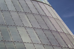 Modern glass roof Royalty Free Stock Photo