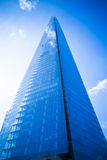 Modern glass skycraper office building - filter added Royalty Free Stock Photos